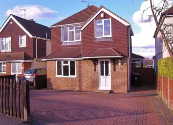 Thumbnail 3 bed detached house for sale in Victoria Road, Knaphill, Woking