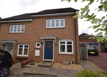 Thumbnail 2 bed end terrace house for sale in Chineham Close, Elvetham Heath, Fleet