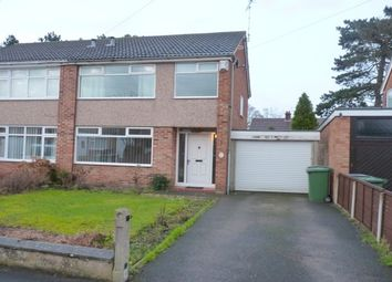 Thumbnail 3 bedroom property to rent in Dearnford Avenue, Bromborough, Wirral