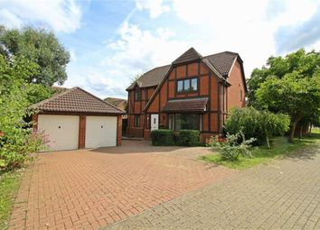 Thumbnail 4 bedroom detached house to rent in Paxton Crescent, Shenley Lodge, Milton Keynes