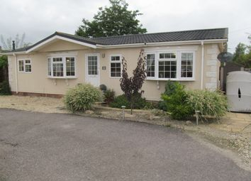 Thumbnail 3 bed mobile/park home for sale in St Marys Court Park (Ref 5703), Weald, Bampton, Oxfordshire