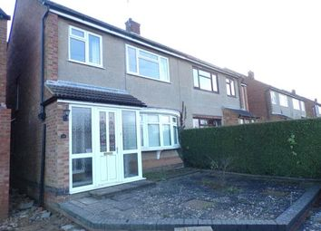 3 bed semi-detached house for sale in Rawley Crescent, Duston, Northampton, Northamptonshire NN5