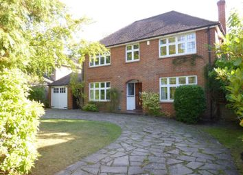Thumbnail 4 bed detached house to rent in Pirbright Road, Farnborough, Hampshire