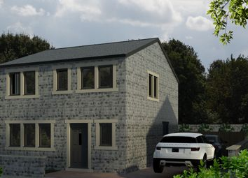 Thumbnail 3 bed detached house for sale in Hollins Row, Slaithwaite, Huddersfield