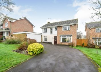 Thumbnail 4 bedroom detached house for sale in St Michaels Close, North Waltham, Basingstoke