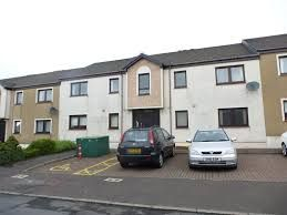 Thumbnail 2 bed flat to rent in West End, Dalry, North Ayrshire