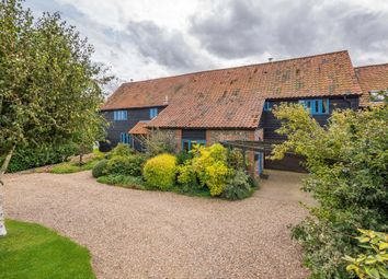 Thumbnail 5 bedroom barn conversion for sale in The Street, Hepworth, Diss