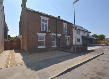 Thumbnail 2 bed semi-detached house for sale in Spring Road, Lymington, Hampshire