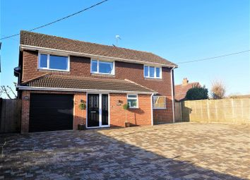 Thumbnail 4 bed detached house for sale in Bramley Road, Sherfield-On-Loddon, Hook