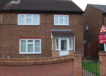 Thumbnail 3 bed semi-detached house to rent in Ullswater Way, Hornchurch
