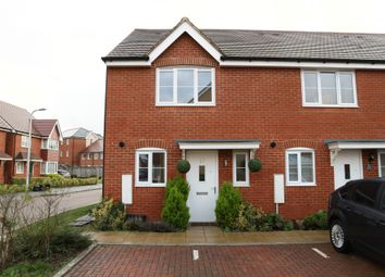 Thumbnail 2 bed property to rent in Fawn Drive, Three Mile Cross, Reading