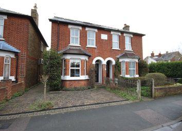 Thumbnail 4 bed semi-detached house for sale in Osborne Road, Egham, Surrey