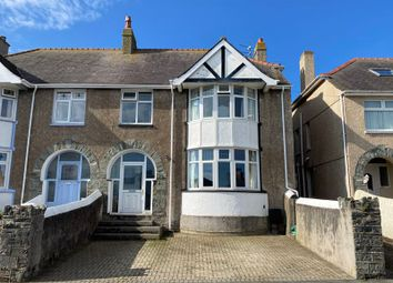 Thumbnail 4 bed semi-detached house for sale in Tan Y Bryn Road, Holyhead