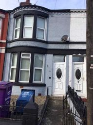 Thumbnail 5 bed terraced house to rent in Rathbone Road, Wavertree, Liverpool