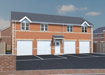 Thumbnail 1 bed flat for sale in Plot 24 The Croft, North Wingfield