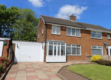 Thumbnail 3 bed semi-detached house for sale in Valley Road, Weston Coyney