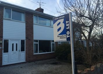 Thumbnail 3 bed semi-detached house to rent in Norton Avenue, Saltney, Chester