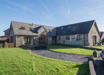 Thumbnail 5 bedroom barn conversion for sale in Maes Eglwys Farm, Pantlasau, Swansea