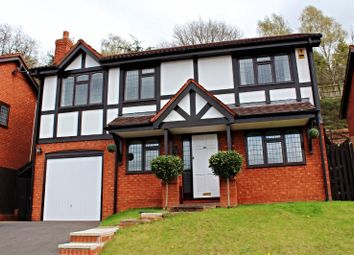 Thumbnail 3 bed detached house for sale in Rhuddlan Way, Kidderminster