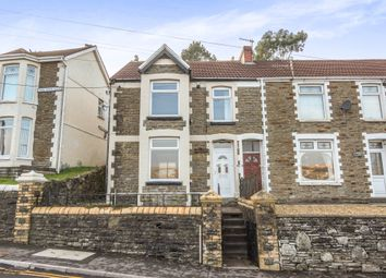 Thumbnail 3 bed end terrace house for sale in Farm Road, Pontlottyn, Bargoed
