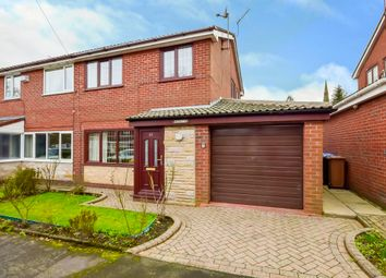 Thumbnail 3 bed semi-detached house for sale in Crossfield Close, Wardle, Rochdale