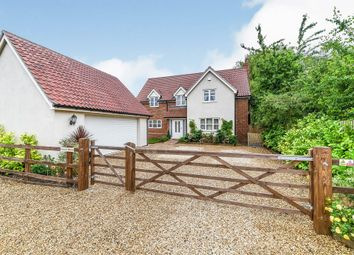 Thumbnail 4 bed detached house for sale in Church Lane, Southery, Downham Market