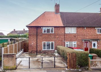 Thumbnail 2 bed end terrace house for sale in Kilby Avenue, Nottingham