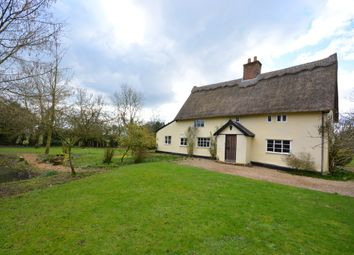 Thumbnail 4 bed detached house for sale in Chippenhall Green, Fressingfield, Eye