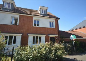Thumbnail 3 bed semi-detached house for sale in Brentwood, Eaton, Norwich, Norfolk