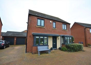 Thumbnail 4 bed detached house for sale in Balmoral Close, Marina Park, Northampton
