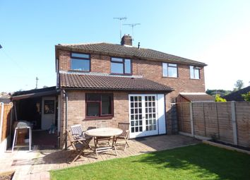 Thumbnail 3 bed semi-detached house to rent in Prior Way, Colchester