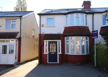 Thumbnail 3 bedroom semi-detached house for sale in Stanley Avenue, Birmingham