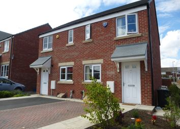 Thumbnail 2 bed semi-detached house for sale in Swarcliffe Avenue, Leeds