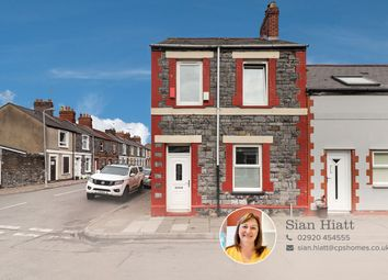 Thumbnail 2 bedroom end terrace house for sale in Gwendoline Street, Cardiff