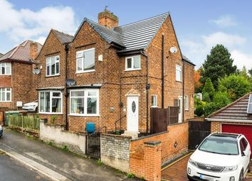Thumbnail 3 bed semi-detached house for sale in Radstock Road, Nottingham, Nottinghamshire