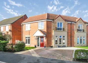 Thumbnail 3 bed semi-detached house for sale in Highfield Avenue, Langwith Junction, Mansfield, Derbyshire