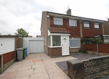 Thumbnail 3 bed semi-detached house to rent in Hoy Drive, Urmston, Manchester