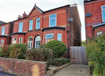 Thumbnail 4 bed semi-detached house to rent in Hazelhurst Road, Manchester