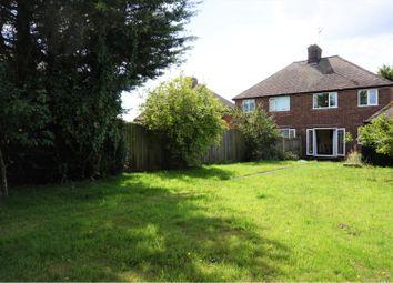 Thumbnail 3 bed semi-detached house for sale in Oak Hill, Hollesley, Woodbridge