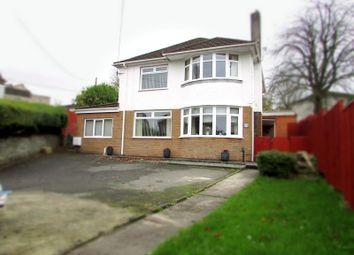 Thumbnail 4 bed detached house for sale in Cimla Road, Cimla, Neath, West Glamorgan.
