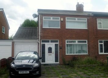 Thumbnail 3 bed semi-detached house for sale in Hale Grove, Ashton-In-Makerfield, Wigan