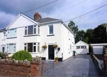 Thumbnail 4 bed semi-detached house for sale in Tyn Yr Heol Road, Neath