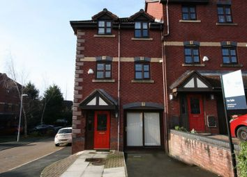 Thumbnail 4 bedroom town house for sale in Falconwood Chase, Worsley, Manchester