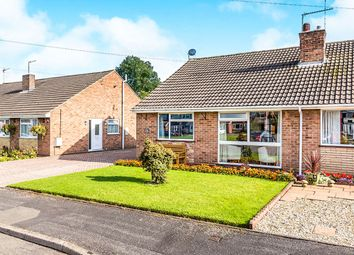 Thumbnail 2 bed bungalow for sale in Woodlands Crescent, Overseal, Swadlincote