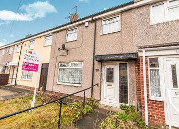 Thumbnail 3 bed terraced house for sale in Lime Crescent, Hartlepool
