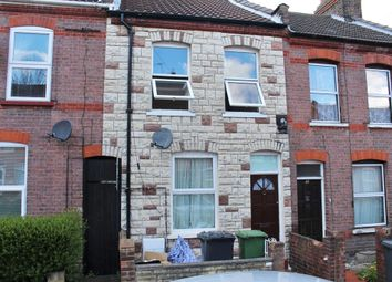 Thumbnail 3 bed terraced house to rent in Butlin Road, Luton