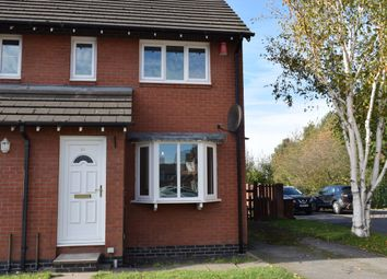 Thumbnail 2 bed terraced house to rent in Cranford Mews, Alsager, Stoke-On-Trent