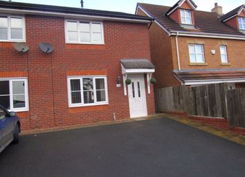 Thumbnail 2 bed semi-detached house to rent in Cae Onan, Morda, Oswestry