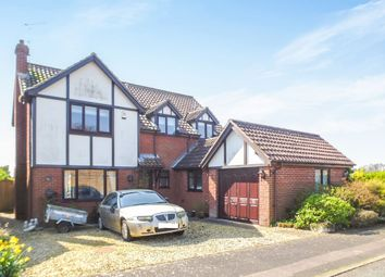 Thumbnail 4 bed detached house for sale in Marea Meadows, Heacham, King's Lynn