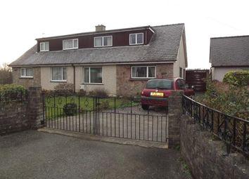 Thumbnail 3 bed semi-detached house for sale in Llanrug, Caernarfon, Gwynedd